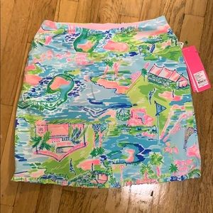 Lilly Pulitzer Golf skirt 0 Luxletic